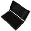 COSCO Microgel Stamp Pad for 2000 PLUS, 2 3/4 x 4 1/4, Black Thumbnail 1