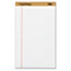 TOPS™ The Legal Pad Ruled Perforated Pads, Legal/Wide, 8 1/2 x 14, White, 50 Sheets Thumbnail 1