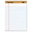 TOPS™ The Legal Pad Ruled Perforated Pads, Legal/Wide, 8 1/2 x 11 3/4, White, Dozen Thumbnail 1