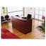 """Alera® Alera Valencia Series Reception Desk with Transaction Counter, 71"""" x 35.5"""" x 29.5"""" to 42.5"""", Mahogany Thumbnail 4"""