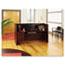 """Alera® Alera Valencia Series Reception Desk with Transaction Counter, 71"""" x 35.5"""" x 29.5"""" to 42.5"""", Mahogany Thumbnail 6"""