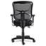 Alera® Alera Elusion Series Mesh Mid-Back Swivel/Tilt Chair, Supports up to 275 lbs, Black Seat/Black Back, Black Base Thumbnail 3