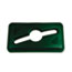 Rubbermaid® Commercial Slim Jim Single Stream Recycling Top for Slim Jim Containers, Dark Green Thumbnail 1