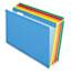 Pendaflex® Reinforced Hanging Folders, 1/5 Tab, Legal, Assorted, 25/Box Thumbnail 1