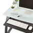 Safco® Xpressions Keyboard Tray, Steel, 23-1/2w x 15-1/4d, Black Thumbnail 2