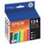 Epson® T124520 (124) DURABrite Ultra Ink, Cyan/Magenta/Yellow, 3/PK Thumbnail 2