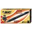 BIC® Velocity Ballpoint Retractable Pen, Black Ink, 1.6mm, Bold, Dozen Thumbnail 1