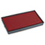 COSCO 2000PLUS® Replacement Ink Pad for 2000 PLUS 1SI20PGL, Red Thumbnail 1
