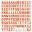 """MasterVision® Interchangeable Magnetic Characters, Letters, Red, 3/4""""h Thumbnail 1"""