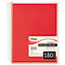 Mead® Spiral Bound Notebook, Perforated, College Rule, 8 x 10 1/2, White, 180 Sheets Thumbnail 2