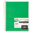 Mead® Spiral Bound Notebook, Perforated, College Rule, 8 x 10 1/2, White, 180 Sheets Thumbnail 1