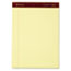 Ampad™ Gold Fibre Writing Pads, Legal/Legal Rule, Ltr, Canary, 4 50-Sheet Pads/Pack Thumbnail 2
