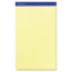 Ampad™ Perforated Writing Pad, 8 1/2 x 14, Canary, 50 Sheets, Dozen Thumbnail 2