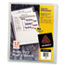 Avery® Heavy-Duty Plastic Sleeves, Clear, 12/PK Thumbnail 1