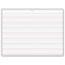 Pacon® Multi-Sensory Handwriting Tablet, 10-1/2 x 8, 40 Sheets/Pad Thumbnail 2