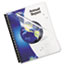 """Fellowes® Crystals Presentation Covers with Round Corners, 11 1/4"""" x 8 3/4"""", Clear, 100/Pack Thumbnail 1"""