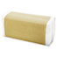 "General Supply C-Fold Towels, 10.13"" x 11"", White, 200/Pack, 12 Packs/Carton Thumbnail 3"