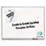 Quartet® Classic Series Porcelain Magnetic Board, 36 x 24, White, Silver Aluminum Frame Thumbnail 2