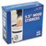 "Royal Paper Wood Coffee Stirrers, 5 1/2"" Long, Woodgrain, 1000 Stirrers/Box Thumbnail 6"