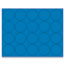 """MasterVision® Interchangeable Magnetic Characters, Circles, Blue, 3/4"""" Dia., 20/Pack Thumbnail 1"""