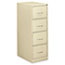 OIF Four-Drawer Economy Vertical File, 18-1/4w x 26-1/2d x 52h, Putty Thumbnail 1