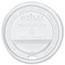SOLO® Cup Company Traveler Drink-Thru Lid, White, 300/Carton Thumbnail 1