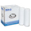 SOLO® Cup Company Traveler Drink-Thru Lid, White, 300/Carton Thumbnail 3