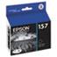 Epson® T157120 (157) UltraChrome K3 Ink, Photo Black Thumbnail 1