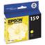 Epson® T159420 (159) UltraChrome Hi-Gloss 2 Ink, Yellow Thumbnail 1