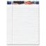 TOPS™ American Pride Writing Pad, Legal/Wide, 8 1/2 x 11 3/4, White, 50 Sheets, Dozen Thumbnail 1