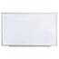 Universal Dry Erase Board, Melamine, 60 x 36, Satin-Finished Aluminum Frame Thumbnail 1