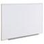 Universal Dry Erase Board, Melamine, 60 x 36, Satin-Finished Aluminum Frame Thumbnail 2