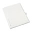 Avery® Individual Legal Dividers Style, Letter Size, Avery-Style, Side Tab Dividers, K, 25/PK Thumbnail 2