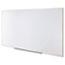 Universal Dry Erase Board, Melamine, 96 x 48, Satin-Finished Aluminum Frame Thumbnail 2