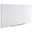 Universal Dry Erase Board, Melamine, 96 x 48, Satin-Finished Aluminum Frame Thumbnail 3
