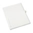 Avery® Individual Legal Dividers Style, Letter Size, Avery-Style, Side Tab Dividers, O, 25/PK Thumbnail 2