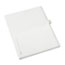 Avery® Individual Legal Dividers Style, Letter Size, Avery-Style, Side Tab Dividers, P, 25/PK Thumbnail 2