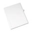 Avery® Individual Legal Dividers Style, Letter Size, Avery-Style, Side Tab Dividers, Q, 25/PK Thumbnail 2