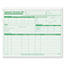 TOPS™ Employee Record File Folders, Straight Cut, Letter, 2-Sided, Green Ink, 20/Pack Thumbnail 1