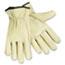 Memphis™ Economy Leather Drivers Gloves, White, Large Thumbnail 1