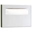 Bobrick Stainless Steel Toilet Seat Cover Dispenser, 15 3/4 x 2 x 11, Satin Finish Thumbnail 1