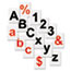"""MasterVision® Interchangeable Magnetic Characters, Letters, Black, 3/4""""h Thumbnail 2"""