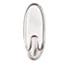 Command™ Clear Hooks & Strips, Plastic, Medium, 50 Hooks w/50 Adhesive Strips per Carton Thumbnail 2
