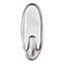 Command™ Clear Hooks & Strips, Plastic, Medium, 6 Hooks & 12 Strips/Pack Thumbnail 2