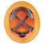 MSA V-Gard Hard Hats, Ratchet Suspension, Size 6 1/2 - 8, High-Viz Orange Thumbnail 4