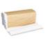 "General Supply C-Fold Towels, 10.13"" x 11"", White, 200/Pack, 12 Packs/Carton Thumbnail 4"