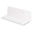 GEN Folded Paper Towels, Multifold, 9 x 9 9/20, White, 250 Towels/Pack, 16 Packs/CT Thumbnail 2