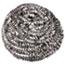 Boardwalk® Stainless Steel Scrubbers, Medium Size, 72/Carton Thumbnail 1