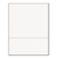 """PrintWorks® Professional Office Paper, Perforated 3-1/2"""" From Bottom, 8-1/2 x 11, 20-lb., 5 RM/ CT Thumbnail 2"""