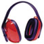 Howard Leight® by Honeywell QM24+ Three-Position Earmuffs, 24NRR, Red/Black Thumbnail 1